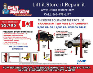 2 Post Lift | Kijiji in Ontario  - Buy, Sell & Save with Canada's #1