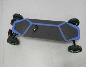 New ALL-TERRAIN ELECTRIC Longboard 38kmh top speed + Warranty
