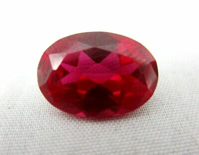 Lab Grown Oval Ruby 10mm x 8mm Lot of 25 Stones