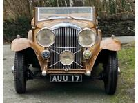 1933 Bentley 3.5 Litre Barker Sporting 2dr Drophead Coupe.
