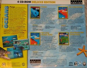 4 CD ROM The Living Oceans London Ontario image 2