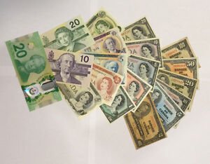 Old Canadian and World Banknotes WANTED!