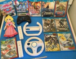 Bayonetta 2, Pokken, Zelda Breath of the Wild, Manette Pro