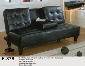Sofa Bed Klick Klack IF-376 Futon $299.00 Sale Drop Down Tray