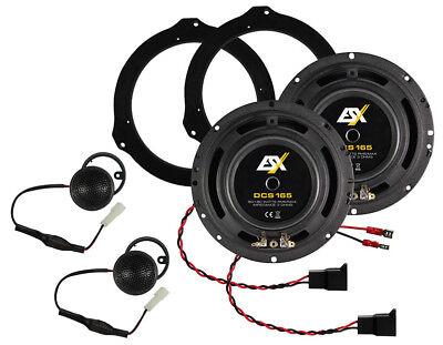 Lautsprecher für Fiat Ducato III und Ducato IV Komposystem ESX DSC165