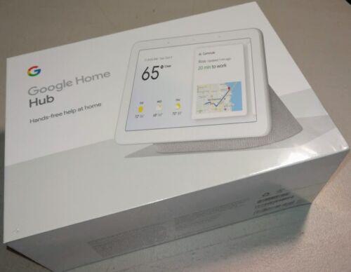 Google - Home Hub with Google Assistant - Chalk GA00516-US BRAND NEW