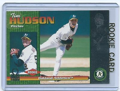 Tim Hudson 1999 Pacific Omega Rookie Card  171