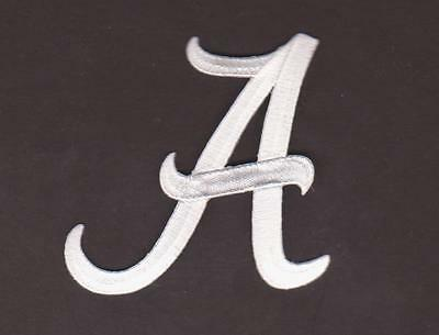 White Version Alabama Crimson Tide A Logo Jersey Patch Ncaa Football Patch