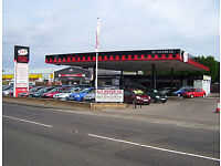 COMMERCIAL GARAGE PREMISES( former petrol staion) SHOWROOM /WORKSHOPS X 3 APPROX CIRCA 1.3 ACRE