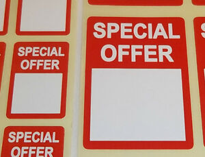 Special-Offer-Stickers-Bright-Red-Price-Point-Swing-Tag-Sticky-Adhesive-Labels