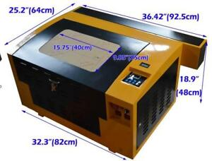"110v 11.81""x15.75"" 3040 CO2 Laser Engraving Cutting Machine Engraver 50W Laser Tube 130063"