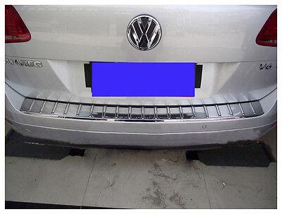 For VolksWagen Touareg 2011-18 Car Rear Bumper Sill Scuff Plate Protector Cover