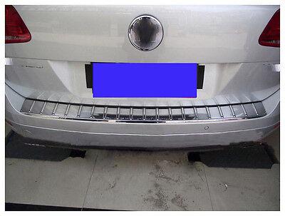 For VolksWagen Touareg 2011-18 Rear Bumper Protector Door Trunk Gate Cover