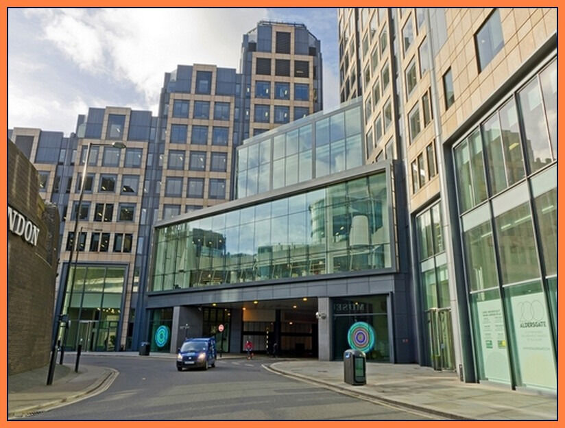 ( Aldersgate - EC1A ) Co-working - Office Space to Rent