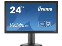Like New Slim 24inch Led iiyama Widescreen Monitor