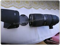 Sigma f2.8 lens 70-200mm for Canon DSLR - absolutely mint condition