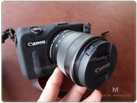 Canon EOS M 18.0MP Digital Camera - The smallest and lightest DSLR equivalent