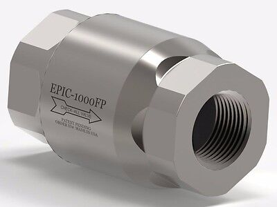 1 Epic Female Pipe Stainless Steel Check Valve Epic-1000fp