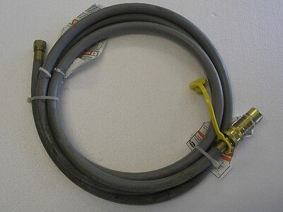 Natural Gas 3 8  Quick Disconnect Hose Kit 10 Feet Gas Grills   Cosmetic Flaw