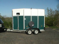 Horse trailers ( FOR HIRE ) HB505 HB510 ( Reading based )