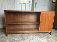 Beautiful H.Gibbs vintage mid century bookcase/displaycase