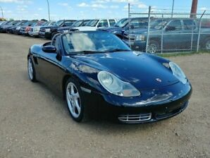 2001 Porsche Boxster 2.7L Convertible Soft Top Leather!