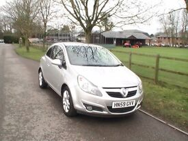 Corsa SXI AC CDTI Ecoflex 1.3 Diesel 2009 with Vauxhall pull out cycle carrier