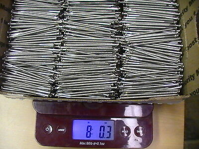 8 Full Pounds 2-12 316 Stainless Steel Siding Nails. Split-proof. 8d 1600