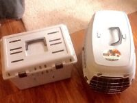 FREE - 2 pet carriers