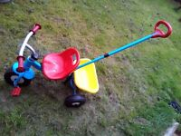 Kids metal tricycle for £10