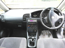 Vauxhall Zafira 7 seater MPV