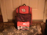 DALE EARNHART JR BACKPAC AND LUNCH BOX