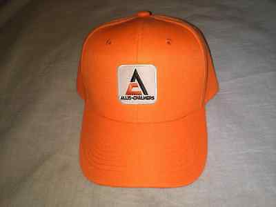 ALLIS  CHALMERS ORANGE TRACTOR HAT