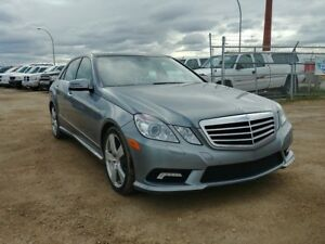 2010 Mercedes-Benz E-Class 3.5L V6 AWD Leather Sunroof Low Payme