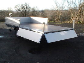 Flat bed sided trailer, Car Trailers ( FOR HIRE )