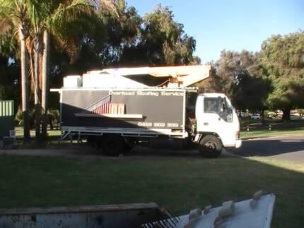 Cherry picker on Isuzu truck for sale $10,000