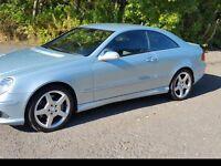 MERCEDES-BENZ CLK 200K AMG Sport 2dr Tip Auto ** A Very Nice Quality Car Pls Read ** (silver) 2007