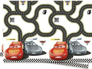 Disney Cars 3 Plastic Party Table Cover Lightning Mcqueen Pixar