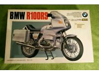 BMW R100RS motorcycle model kit imported from Japan