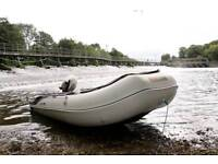 Honwave T35-AE2 boat and honda 10hp rstroke outboard. Rib, boat, tender, dingy