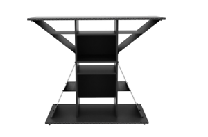 Video Game Stand Gaming Storage Rack Hub For 42 Tv Xbox Ps3 Ps4 Ebay