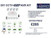 4MP CCTV KIT POE NVR ONVIF