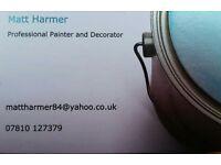 Matt Harmer Professional Painter & Decorator