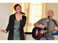 Professional Acoustic Duo , Wedding , Live Music , Birthday Parties , Corporate events in UK