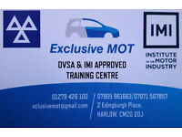 Become an mot tester! 7 day course!