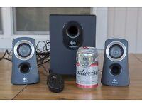 Logitech Speaker System 2.1 25W RMS - Black