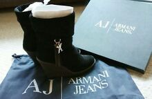 ARMANI JEANS black boots size 36 Epping Ryde Area Preview