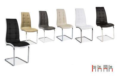 4er Set Esszimmerstuhl Stuhl Küchenstuhl Kunstleder - Farbe wählbar