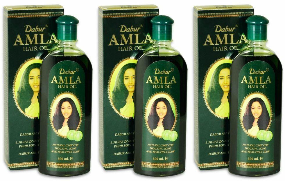 Dabur Amla Hair Oil Haaröl Haarpflege Haarwachstum vorbeugung Haarausfall Indien