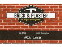 Brick & Plaster, building services..